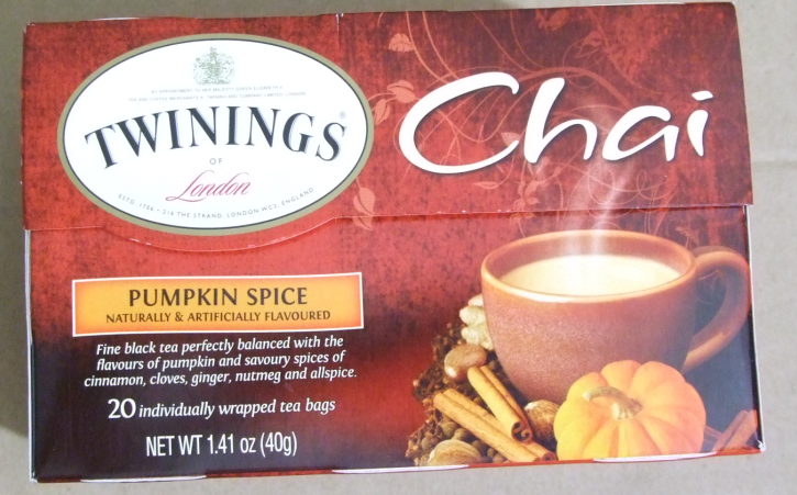 Tea Review: Twinings Pumpkin Spice Chai: ABOMINATION! – Tea