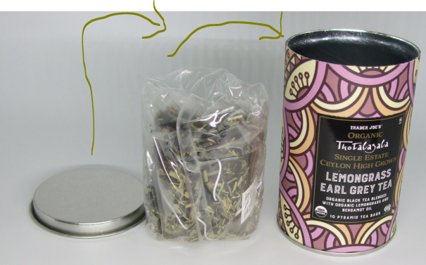 Thotalagala Trader Joe LemonGrass Earl Grey Tea